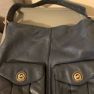 Michael Kors, navy shoulder bag